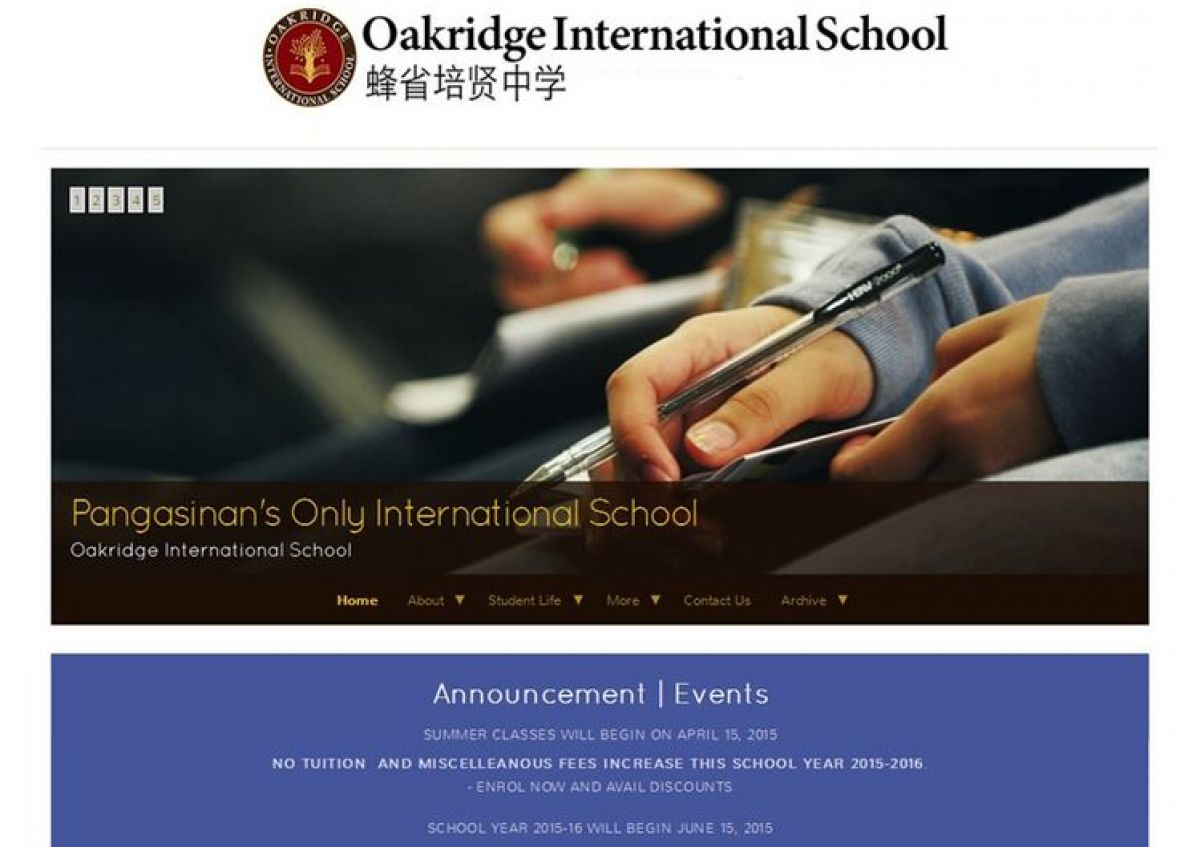 oakridge international school philippines